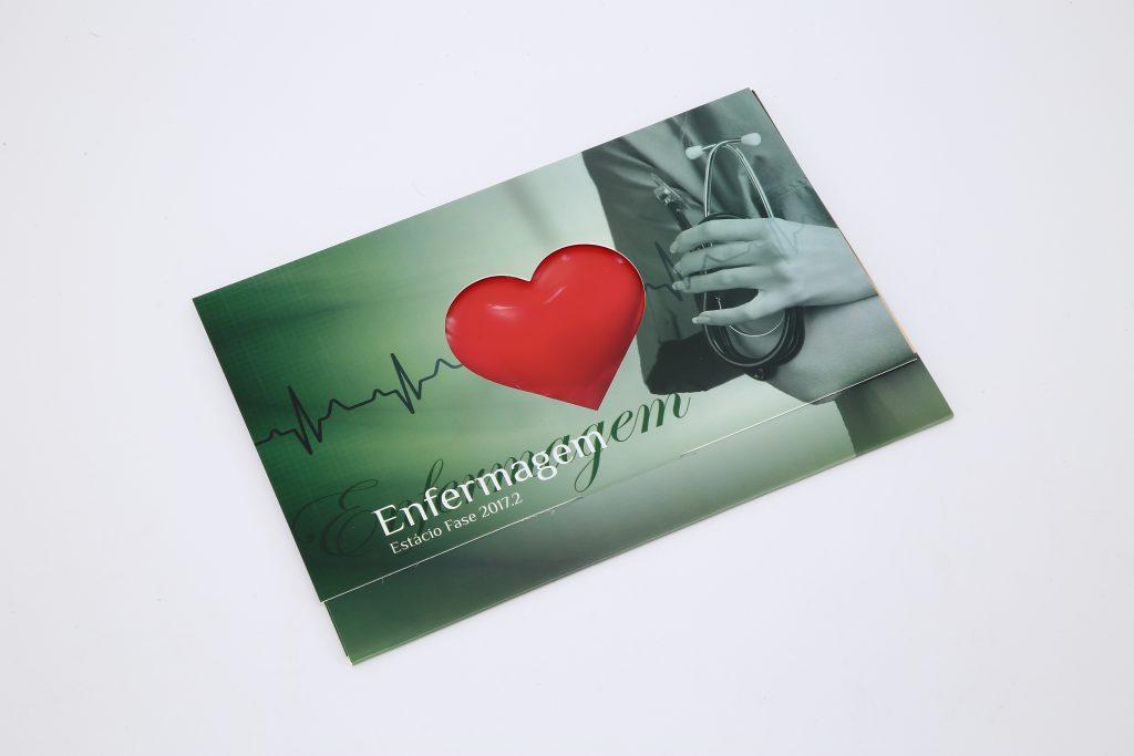 Convite de Formatura de Enfermagem
