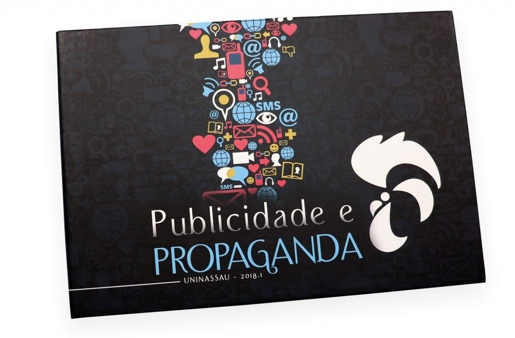 convite de formatura de publicidade e propaganda