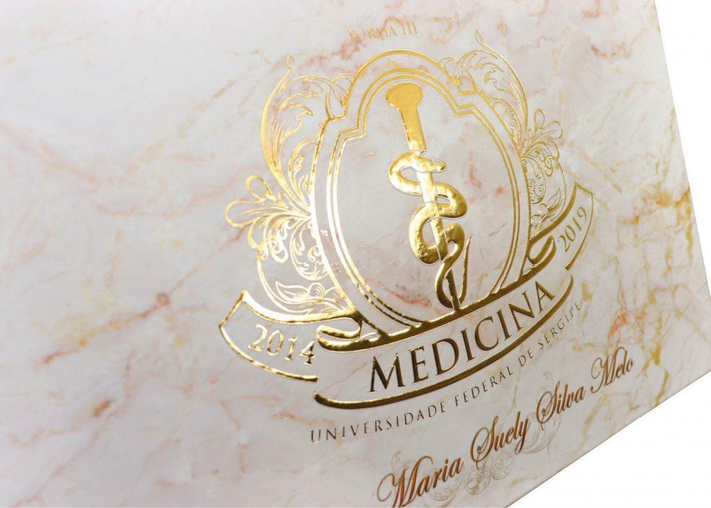 Convite de Formatura de Medicina